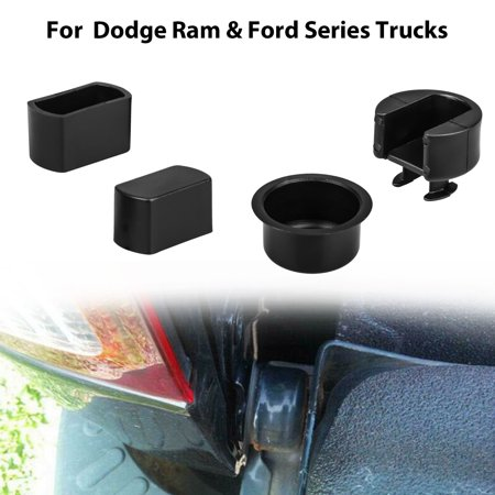 Tailgate Hinge Insert Kit, EEEkit 4pcs Tailgate Hinge Pivot Bushing Insert Kit for Dodge Ram 1500 2500 3500 and Ford F-150 F-250 F-350 F-450 F-550 Series (2006 Dodge Ram 2500 Tailgate For Sale)