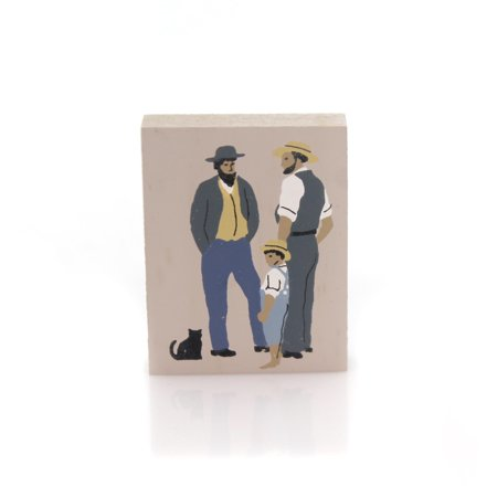 Cats Meow Village JACOB ATLEE NOAH Wood Accessory Amish 235