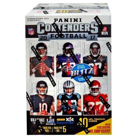 NFL Contenders 2017 Trading Card Blaster Box - Oriental Trading Halloween 2017