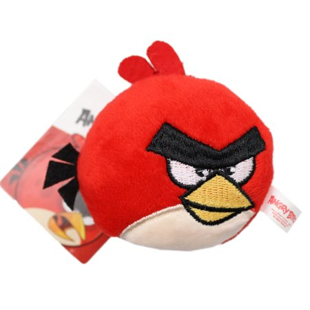 Angry Birds Red Bird Mini Plush Toy (2.5in)