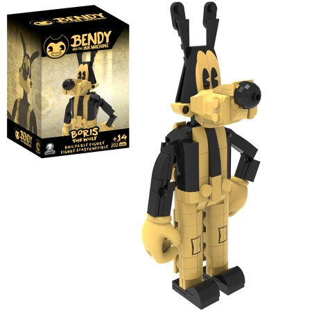 Bendy and the Ink Machine - Collector Construction - Buildable Figures - Series 1 - Boris the Wolf