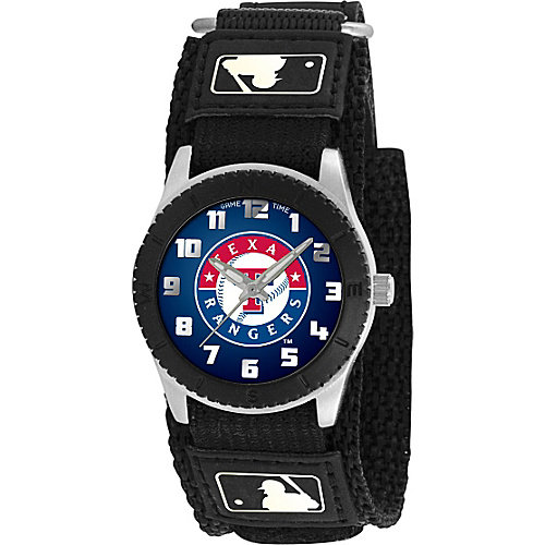 Game Time MLB Kids' Texas Rangers Black Rookie Watch
