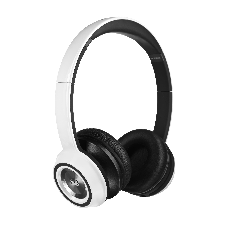 Monster N-Tune On-Ear Headphones, Frost White