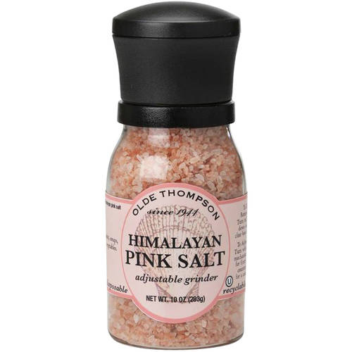 Olde Thompson Himalayan Pink Salt Adjustable Grinder, 10 oz