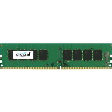Crucial 16GB DDR4 2400 MHz UDIMM Memory Module - CT16G4DFD824A