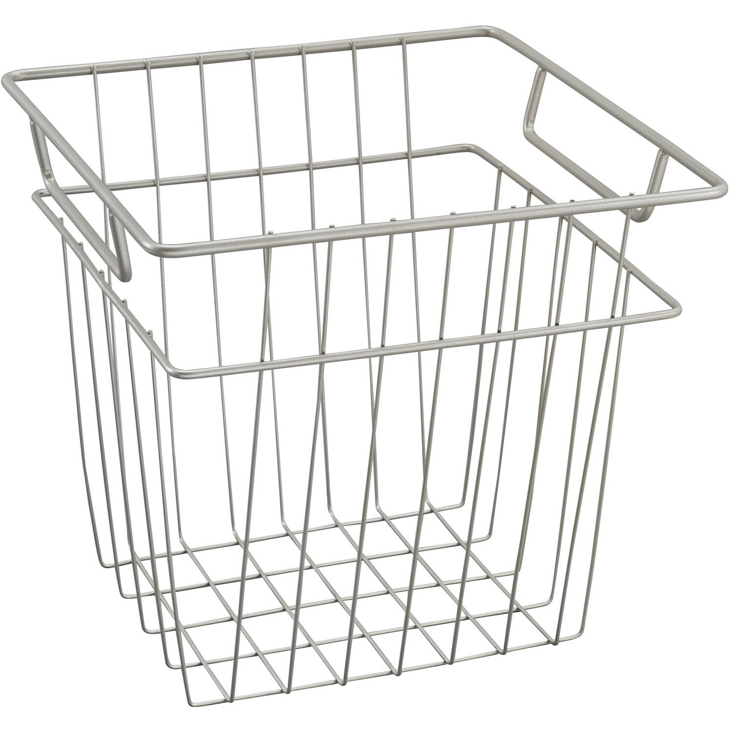 Ordinaire ClosetMaid Wire Basket, Small, Nickel