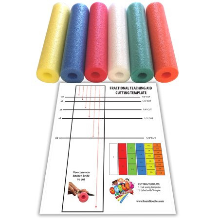oodles visual fraction learning kit great hands on teaching aid for children