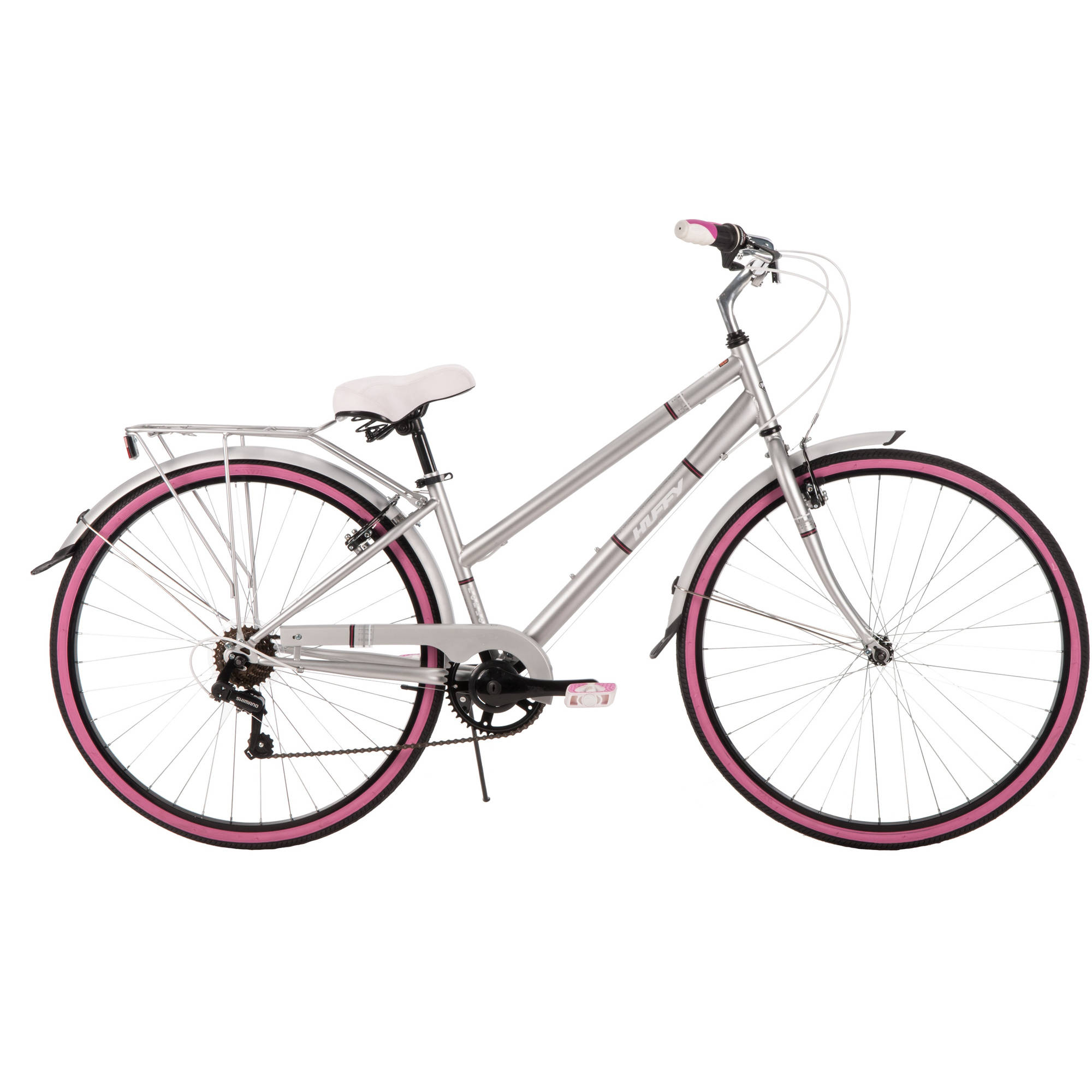 700C Huffy Women's Norwood Cruiser Bike, Grey