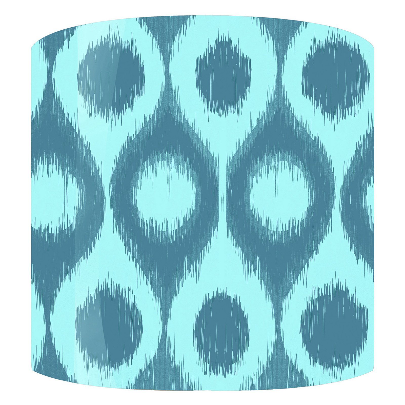PTM Images Ikat F Drum Lamp Shade