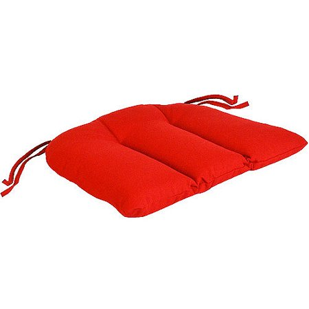 Jordan Manufacturing Outdoor Patio Wrought Iron Seat Cushion ()