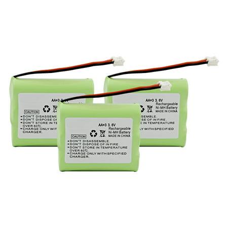 Replacement For AT&T 3301 Cordless Phone Battery (600mAh, 3.6V, Ni-Cd) - 3 (600mah Nicad)