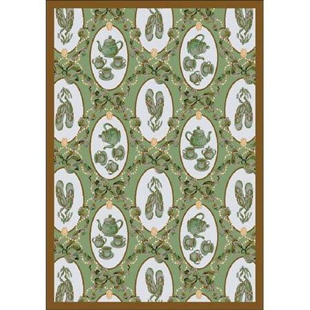 Joy Carpets Ribbons; Bows Area Rug