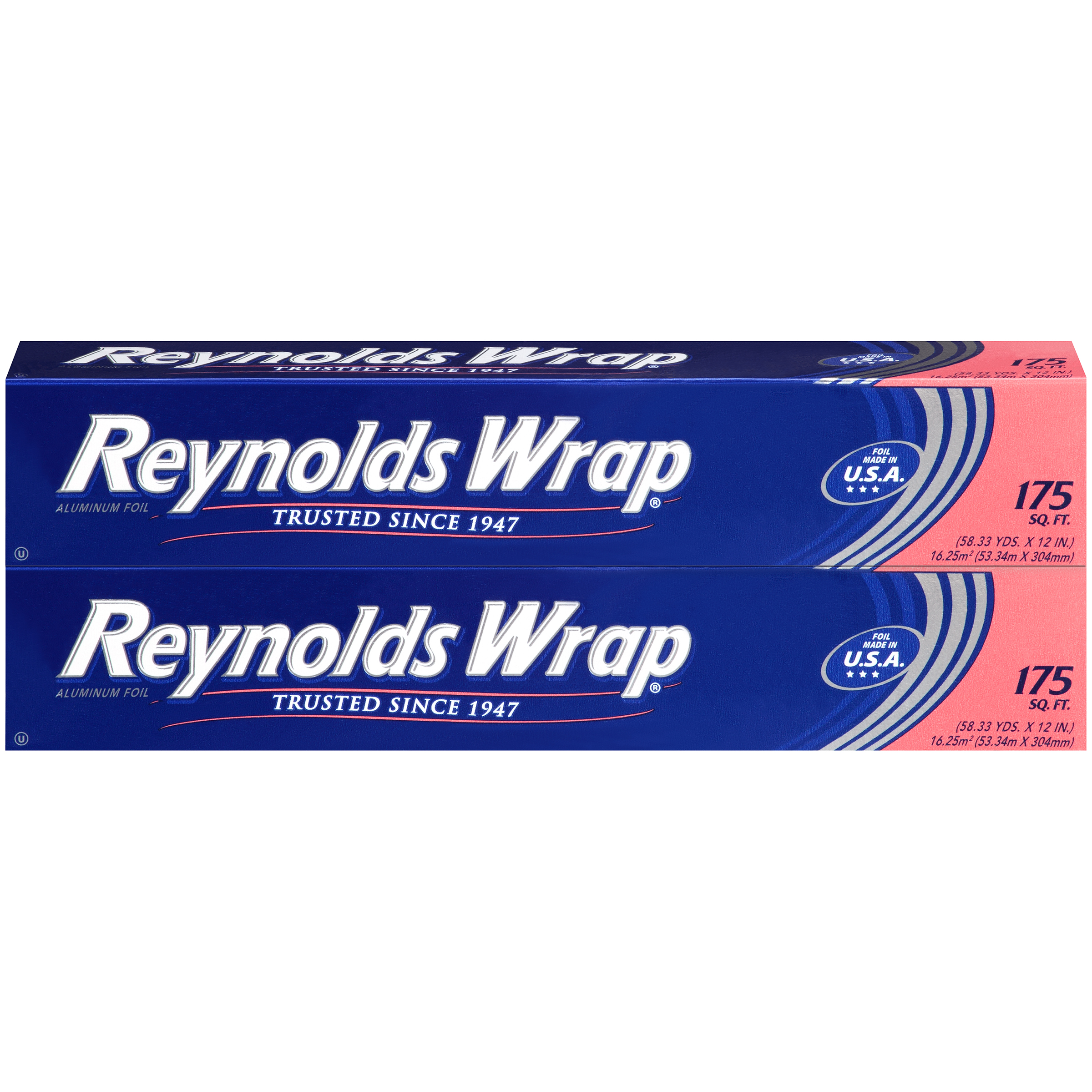 Reynolds Wrap Aluminum Foil (175 Square Foot Roll, Pack of 2)