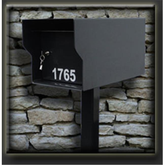 Fort Knox M1-LT B Mailbox, Black