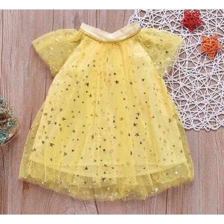 Newborn Kids Baby Girl Party Tutu Tulle Dress Pageant Wedding Birthday Princess Dress (Dress Only) - Tutu Birthday Party
