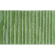 """The Rug Market Wavy Green 16"""" x 27"""" Area Rug"""