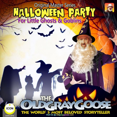 Halloween Party - For Little Ghosts & Goblins - Audiobook - Ghosts And Goblins Stories For Halloween
