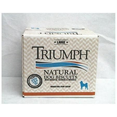 Triumph Large Orignal Biscuits Dog Treats, 20-lb box