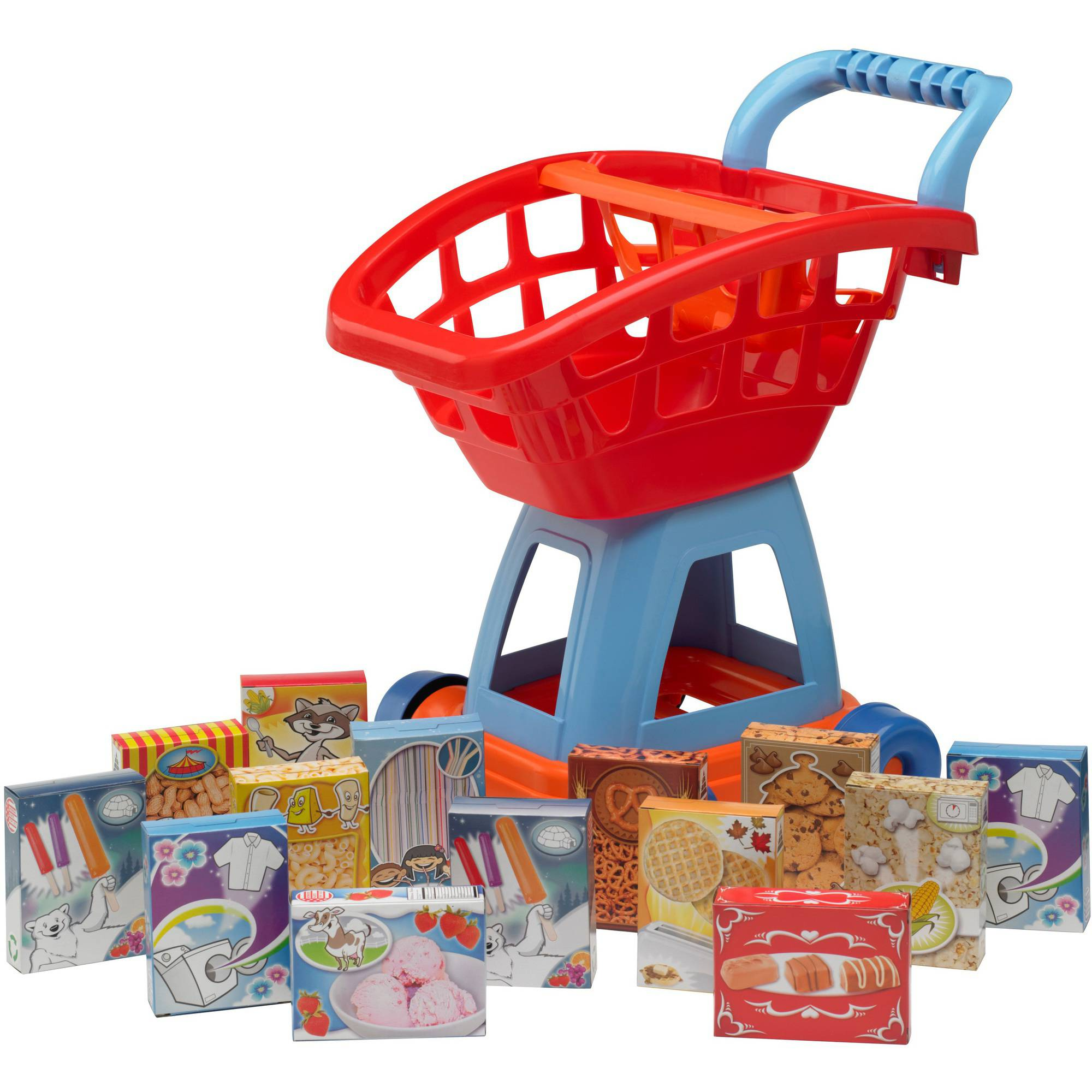 American Plastic Toys Kid's Cart Set