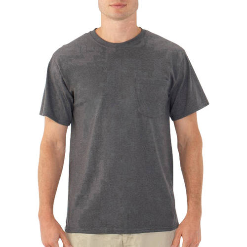 Big Men's Dual Defense UPF Pocket T Shirt, Available up to sizes 4X