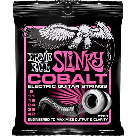 Ernie Ball 2723 Slinky Cobalt Electric Guitar Strings - 9