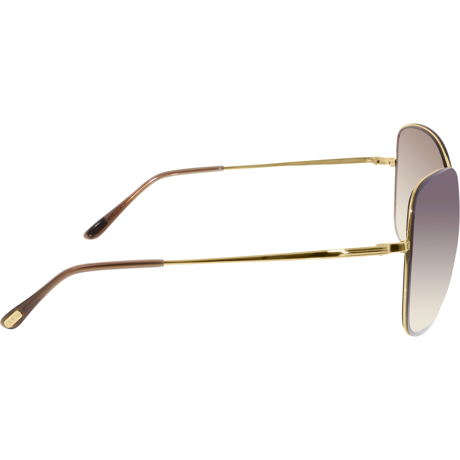 Tom Ford Women's Gradient Colette FT0250-28F-63 Gold Butterfly Sunglasses by