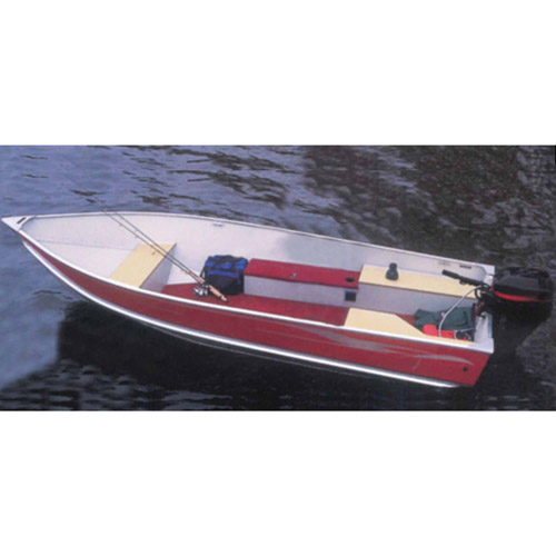 Carver Styled-To-Fit Boat Cover for V-Hull Fishing Boats, Wide Series