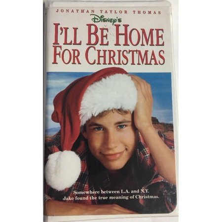 Ill Be Home For Christmas Movie.Ill Be Home For Christmas Clamshell Vhs Tape Movie Jonathan Taylor Thomas