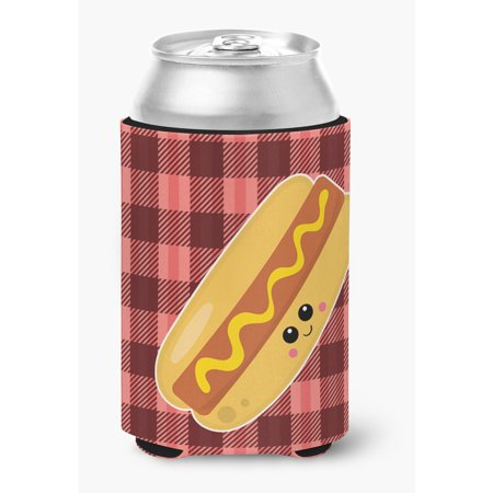 Hot Dog Face Can or Bottle Hugger - Hot Bodies Tire Hugger