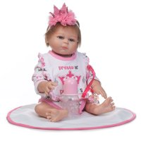 Crown Cloth Europe and America Fashionable Play House Toy Lovely Simulation Baby Doll with Clothes Size 18""