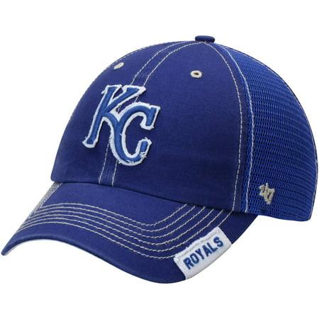 Kansas City Royals '47 Turner Clean-Up Adjustable Hat - Royal - OSFA - Kansas City Royals Hats