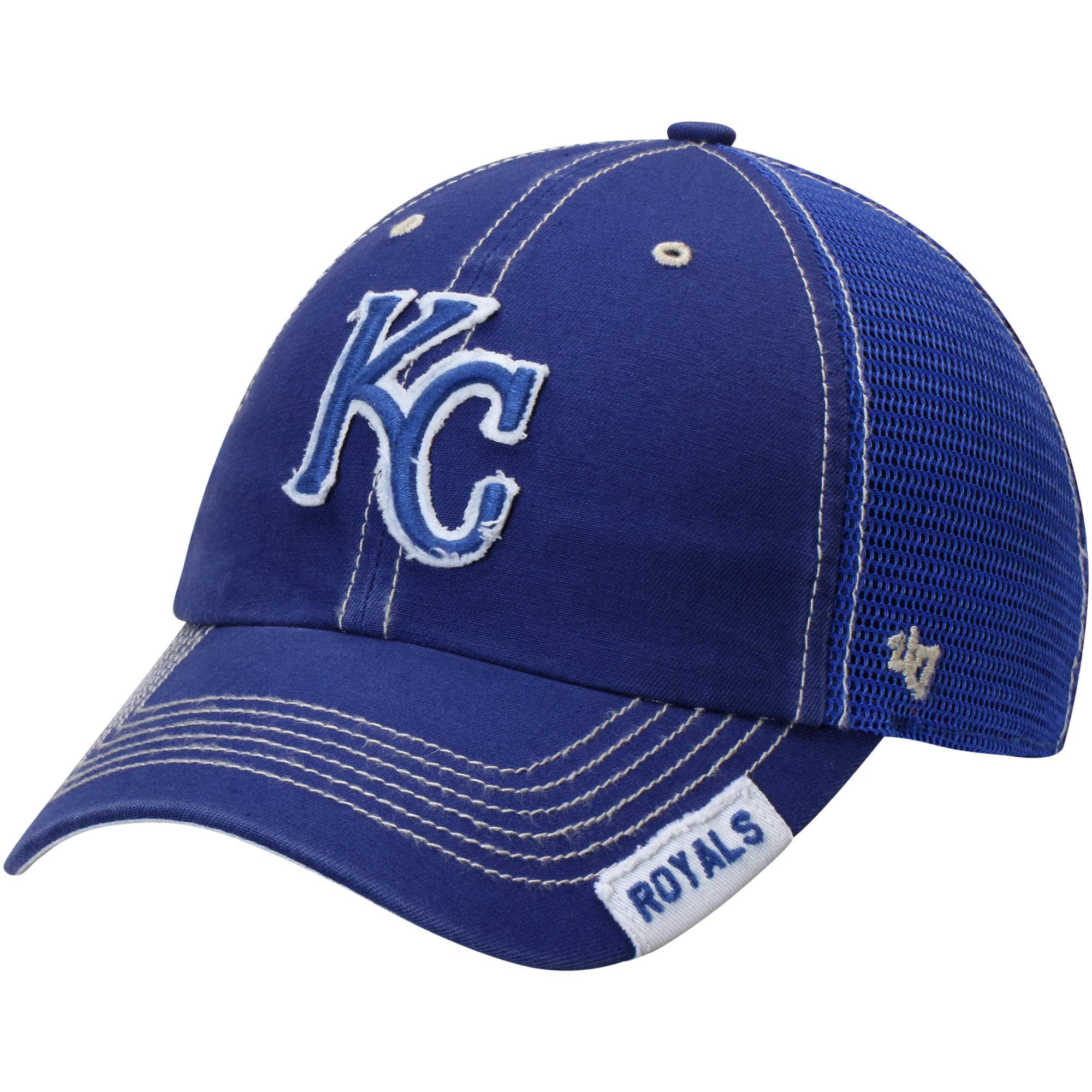Kansas City Royals '47 Turner Clean-Up Adjustable Hat - Royal - OSFA
