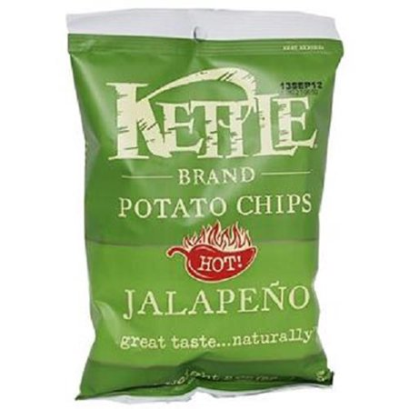 Blairs Jalapeno (KETTLE BRAND HOT JALAPENO CHIPS 2 oz Each ( 6 in a Pack ) )