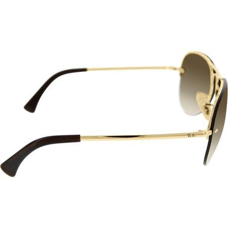 c4b2c7354ddab Ray-Ban Men s Gradient Arista RB3449-001 13-59 Gold Aviator Sunglasses ...