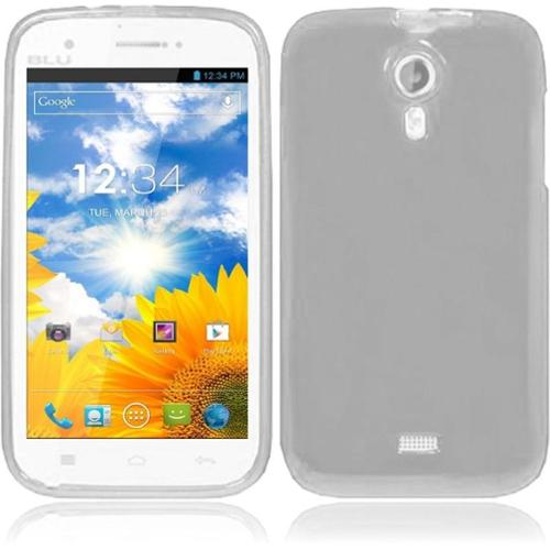 Insten For BLU Studio 5.0 Frosted TPU Gel Cover Case Clear