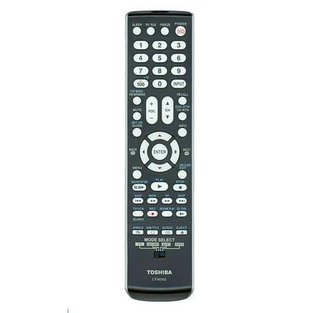 Toshiba Lcd Harness (Original CT-90302 LCD TV Remote Control, P/N 75010932 (Substitute for CT-90275), Compatible Models: 19AV500, 19AV501, 19AV51U, 22AV500, 26AV500,.., By Toshiba )