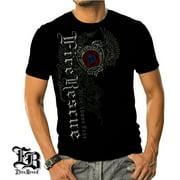 cbd8edb21d76 Cotton Elite Breed Fire Rescue Graphic T-Shirt