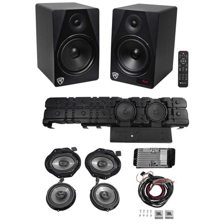 2015-2017 Ford F150 4 Door JBL Speakers+Amplifier+2) 8