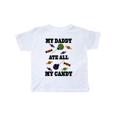 Halloween Ate All Candy (Halloween Funny Daddy Ate My Candy Toddler)