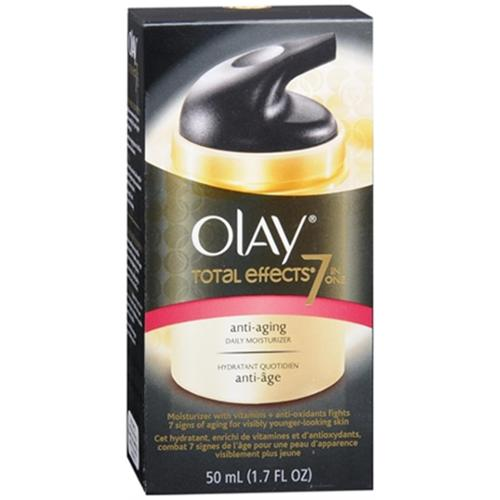 OLAY Total Effects 7-In-1 Anti-Aging Daily Moisturizer 1.70 oz (Pack of 6)