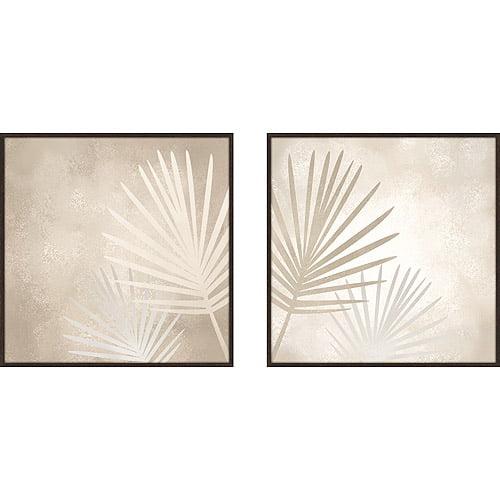 Modern Palms Framed Artwork, Set of 2 by PTM Images