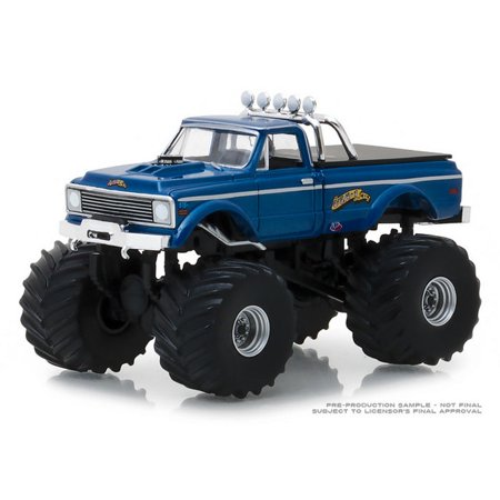 1/64 1970 Chevy K-10 Monster Truck, USA-1 Heritage, Kings of Crunch Series 2