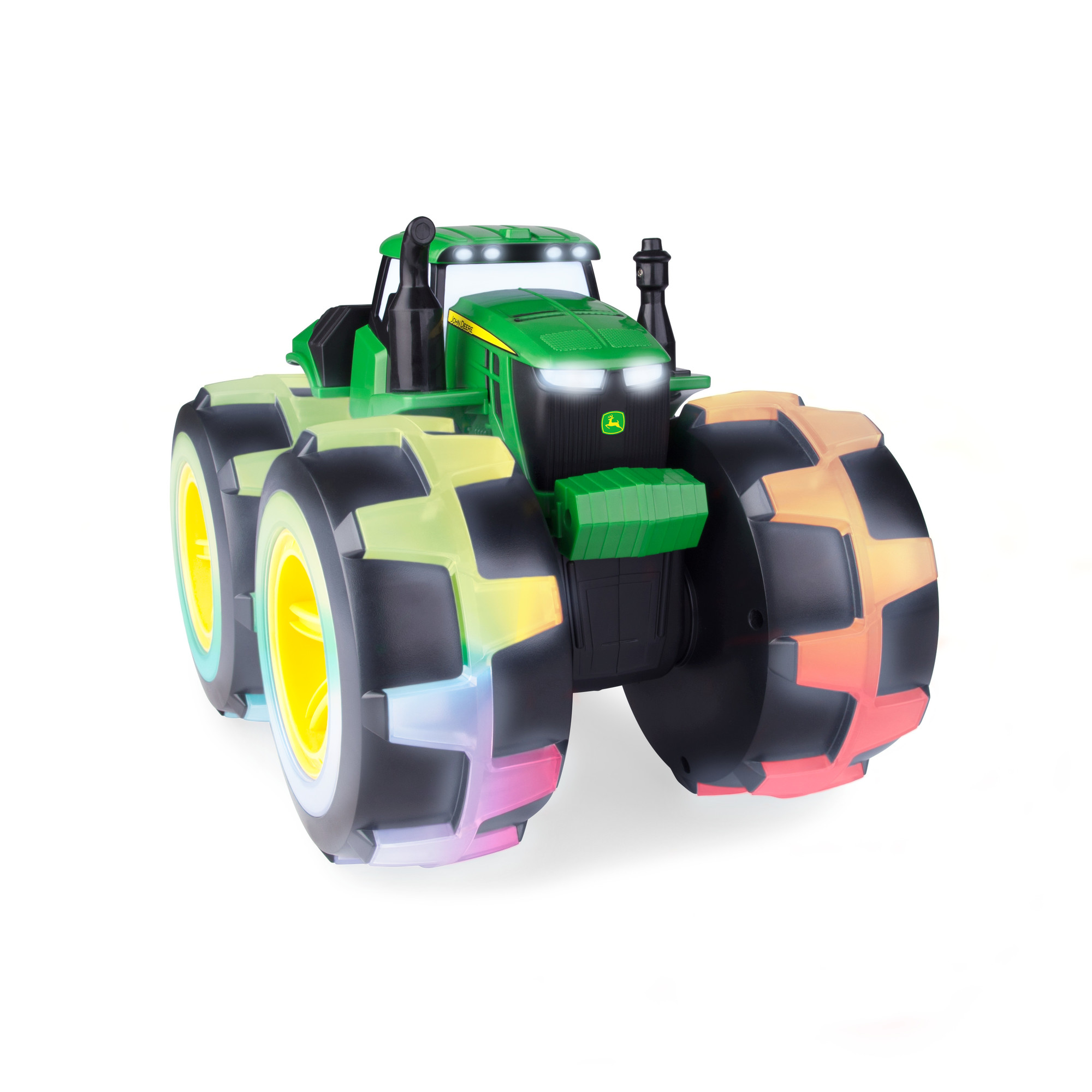 John Deere Monster Treads Deluxe Lightning Wheels Tractor by Tomy Inc