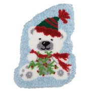 Herrschners® Beary Merry Christmas Latch Hook Kit