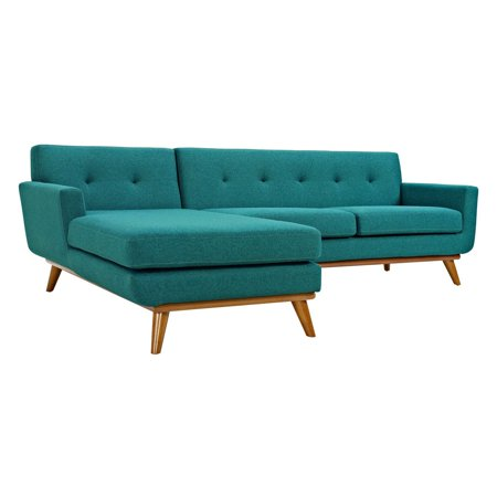 Modway Engage Left-Facing Sectional Sofa, Multiple Colors ()