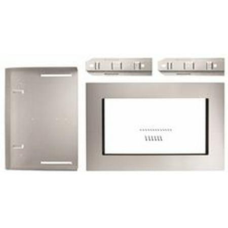 Whirlpool 1 6 Cu Ft Countertop Microwave Trim Kit Stainless Steel 30 In
