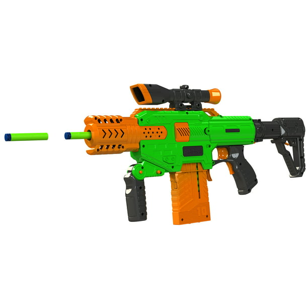 Adventure Force Spectrum Motorized Clip-fed Blaster - Compatible with NERF