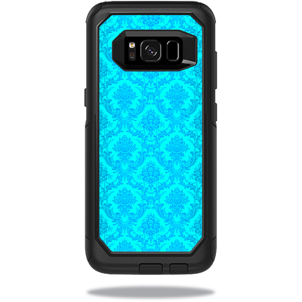 MightySkins Protective Vinyl Skin Decal for OtterBox CommuterSamsung Galaxy S8 Case sticker wrap cover sticker skins Blue Vintage