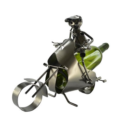 Three Star Im/Ex Inc. Motorcycle 1 Bottle Tabletop Wine Rack for $<!---->