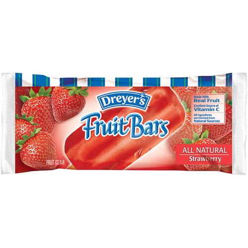 Nestle Dreyers Ice Cream Edys  Fruit Bars, 4 oz
